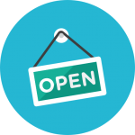 open-sign-icon